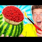 7 Genius Life Hacks Put To The Ultimate Test – Orbeez Pool Obstacles & How To Survive for 24 Hours