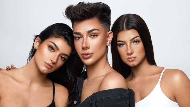 James Charles Uses Makeup to Turn Us into Triplets! featuring Charli D'Amelio|Dixie D'Amelio