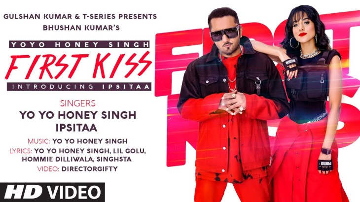 First Kiss: Yo Yo Honey Singh Ft. Ipsitaa | Bhushan Kumar | Lil Golu, Singhsta, Hommie D, DirGifty
