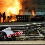 How Grosjean survived fireball Bahrain F1 crash that split his car in two