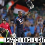 Pandya's power seals series win for India with epic chase | Dettol T20I Series 2020
