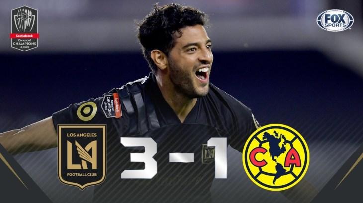 ¡LA NOCHE QUE CARLOS VELA ELIMINÓ AL AMÉRICA! | LAFC 3-1 AMÉRICA