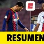 Barcelona 1-4 PSG. LA NOCHE DE MBAPPÉ, triplete del francés. Messi marcó de penal | Champions League