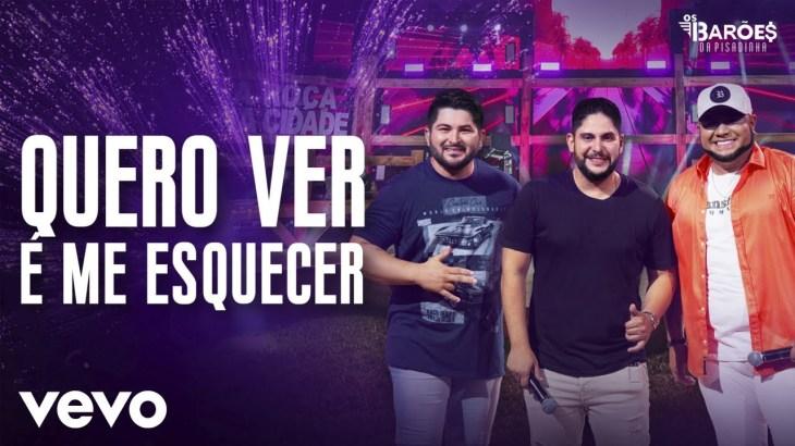Os Barões da Pisadinha – Quero Ver é Me Esquecer (Ao Vivo) ft. Jorge
