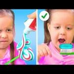 BEST 100 LIFE HACKS! Smart Parenting Hacks, Crafts & Food Ideas by 5-Minute Crafts