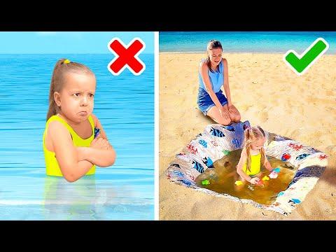 SUMMER PARENTING HACKS || Easy Summer Snacks for Your Kids