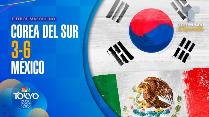 Corea del Sur vs México 3-6 | Fútbol Masculino | Tokyo 2020 | Telemundo Deportes