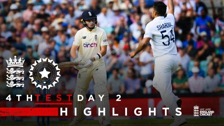 Pope Classy But India Fightback!   England v India – Day 2 Highlights   4th LV= Insurance Test 2021