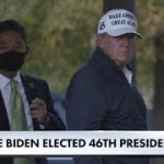 How President Trump and the White House reacted to Biden's projected presidential election victory