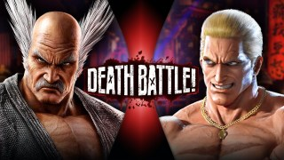 Heihachi Mishima VS Geese Howard (Tekken VS King of Fighters) | DEATH BATTLE!