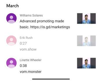 What is the meaning of Vom in the YouTube comments section?