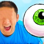 [フロリダさえさな]GOOD Baby Eyeball POPS OUT! Funny kids video by Learn Colors With Baby nursery rhymes songs