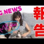 [木下ゆうか]【BIG NEWS】 I'm Keeping A Cat!!! [CC Available]  Yuka Kinoshita