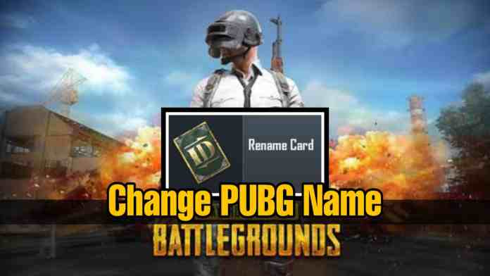 How to change name in PUBG for second time | Step by Step Guide for changing your PUBG Name