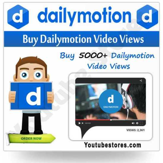Buy Dailymotion Video Views