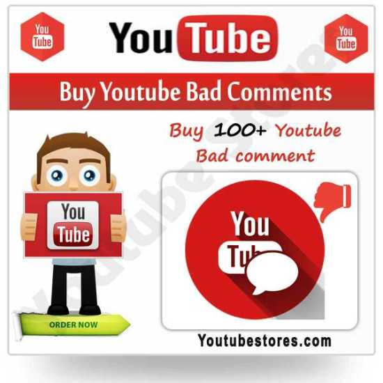 Buy Youtube Bad Comments