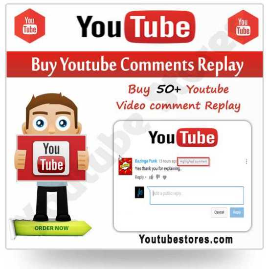 Buy Youtube Comments Replay