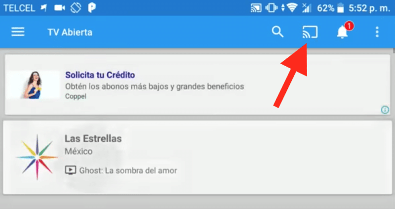 configurar you tv player chromecast apk