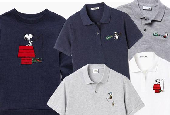 Snoopy Lacoste Polos Con Salta Su tiene Colección De La Moda HIYWED29