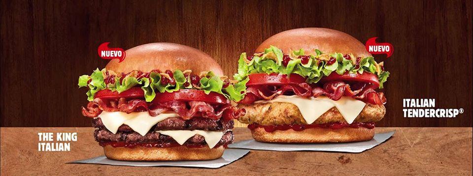 Burger King nos trae el sabor de las tratorias con The King Italian