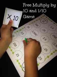 multiply by .10 game picture