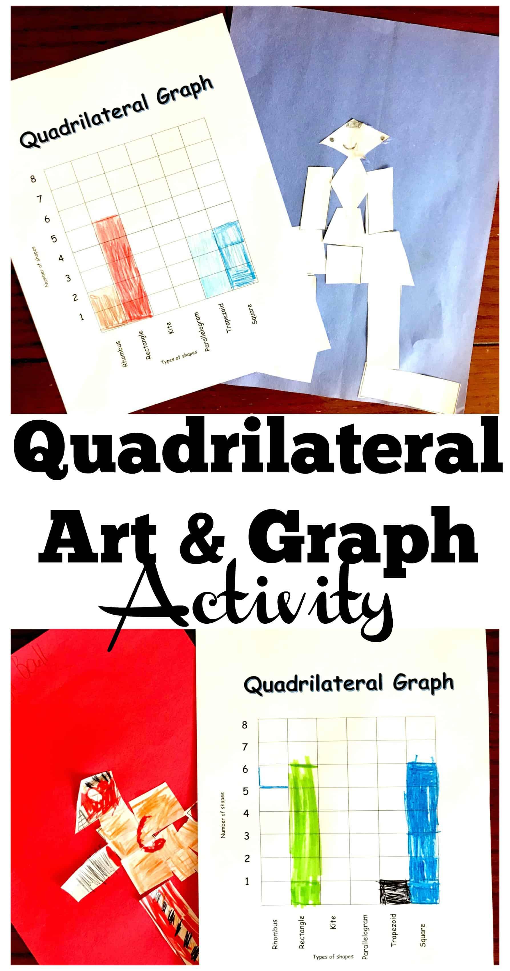 Explore Quadrilaterals With This Free Quadrilateral Art