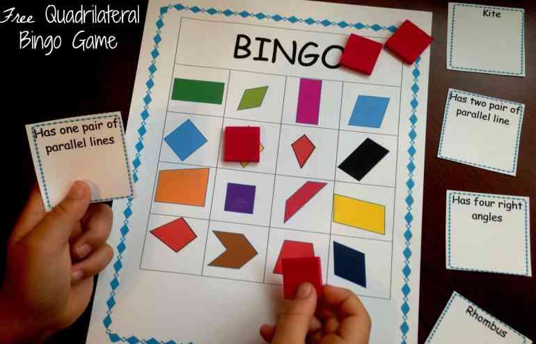 quadrilateral bingo facebook