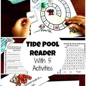 tide pool sight word activiites