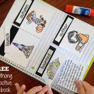 diphthong-interactive-notebook