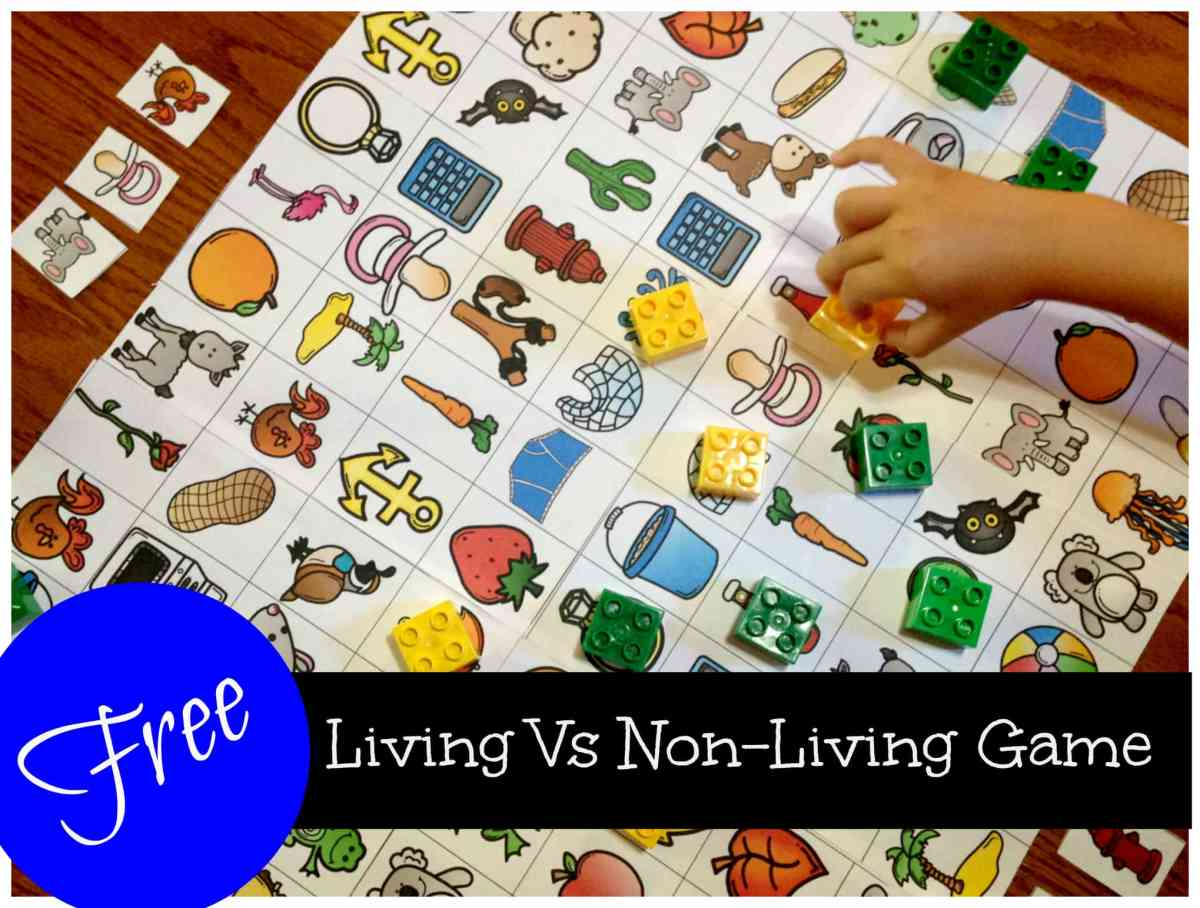 5 Awesome Activities for Living Vs Non-living Unit (FREE Game)
