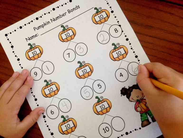 pumpkin-number-bonds-making-10