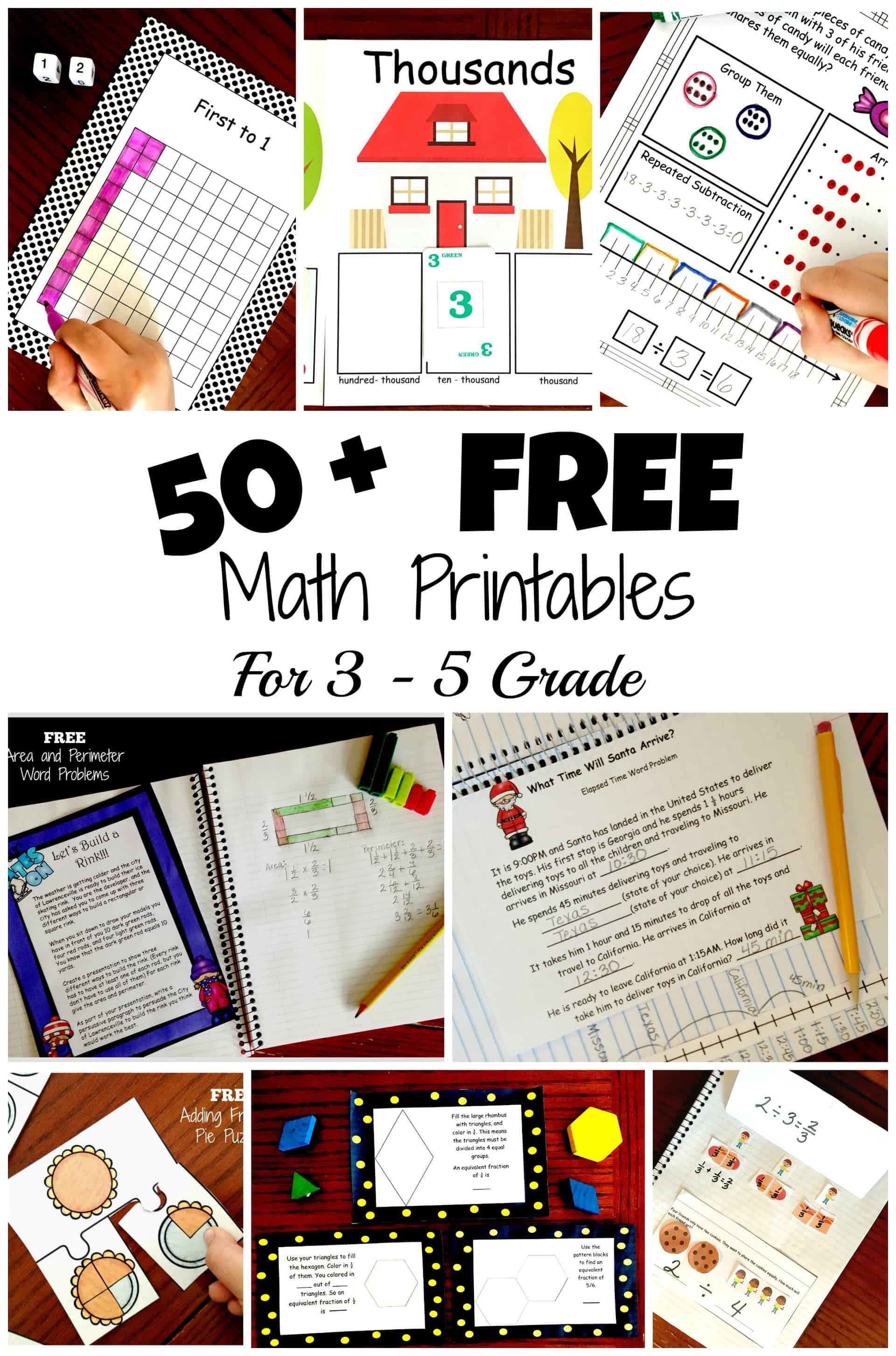 50 Awesome And Fun Math Activities For 3rd 4th And 5th Grade Students