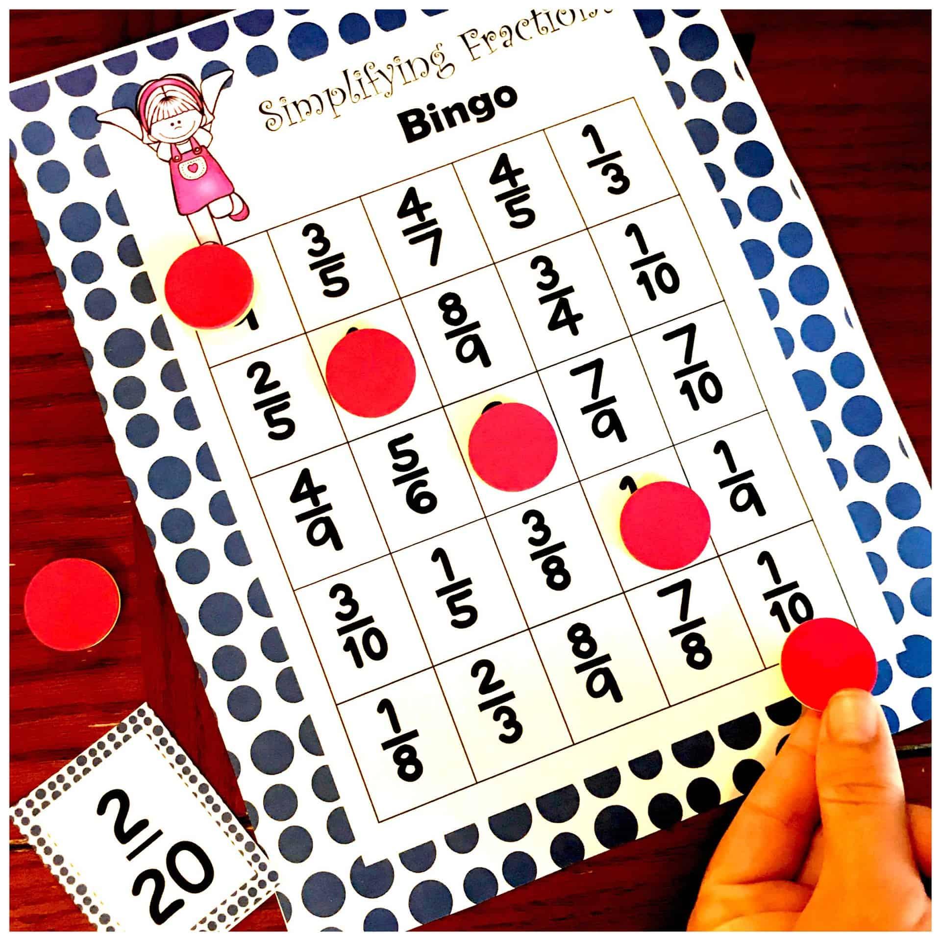 image regarding Simplifying Fractions Game Printable called Prepare Simplifying Fractions With This Free of charge Simplifying