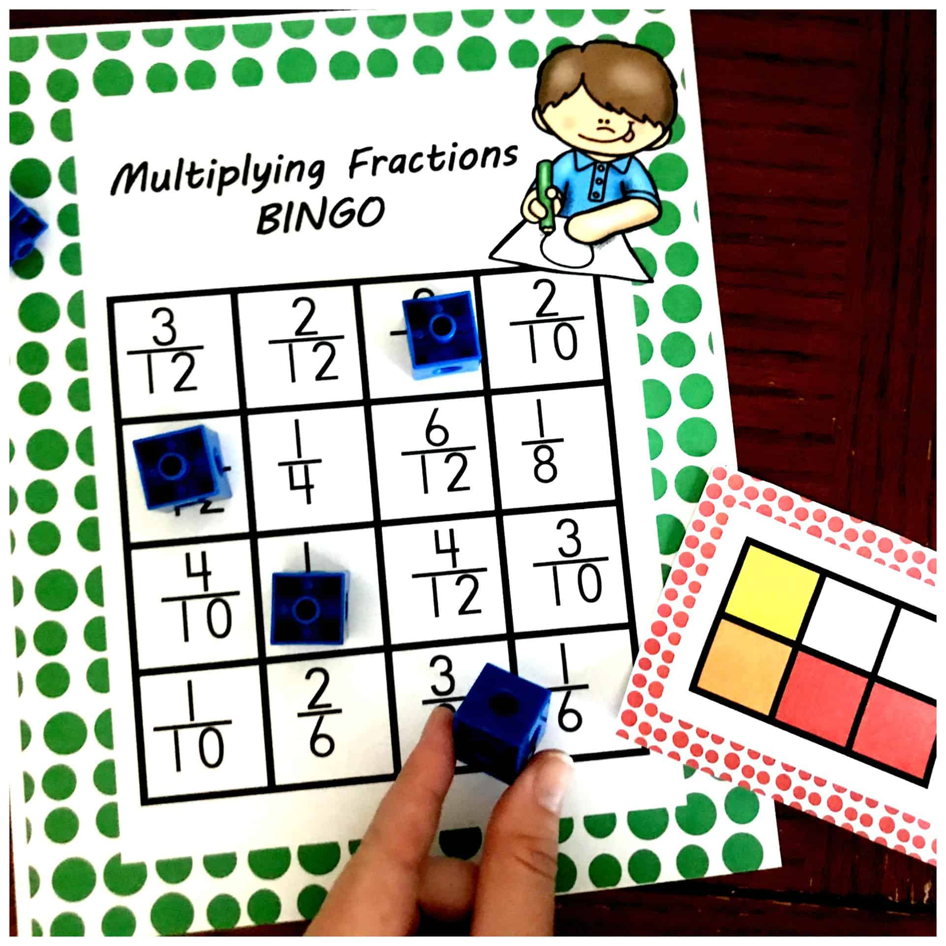 Here S A Multiplying Fractions Game That S Perfect For