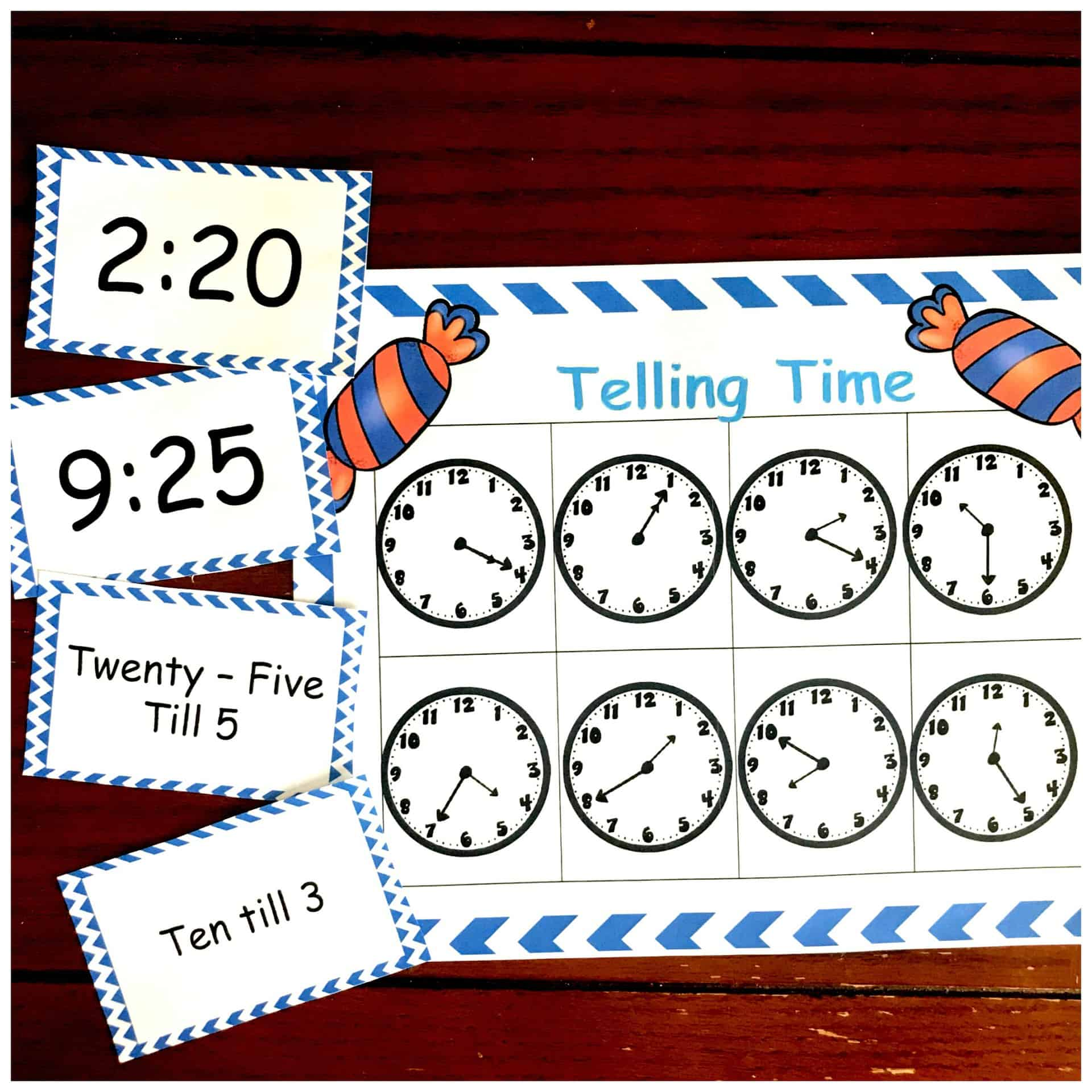 photo regarding Telling Time Printable Game named Cost-free Bingo Recreation Toward Teach Telling Year For Little ones