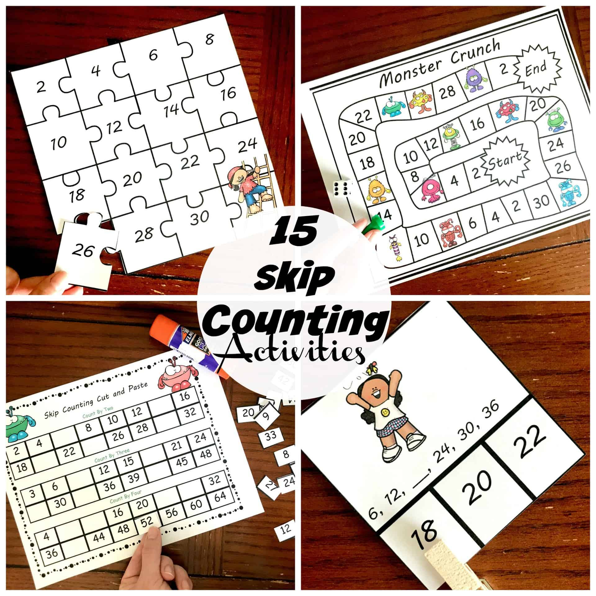15 Fun And Exciting Skip Counting Activities For Early Elementary Children