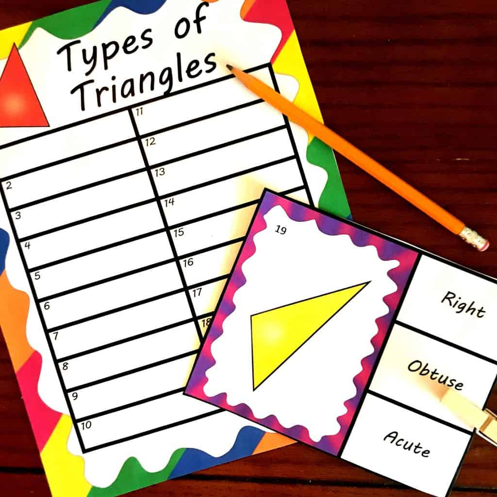 Free Clip Cards For Naming And Recognizing Different Types