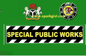 Special public work recruitment
