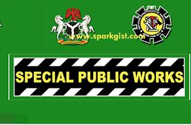 Special public work recruitment