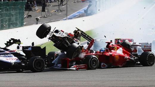 unutulmaz formula 1 kazaları