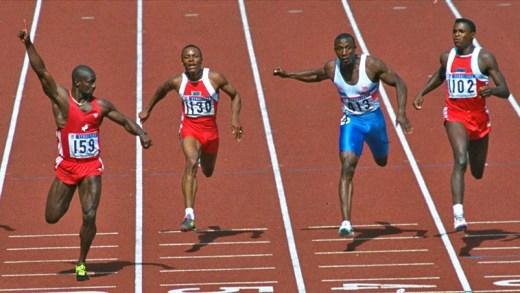 Ben Johnson 100 metre yarışı 2018