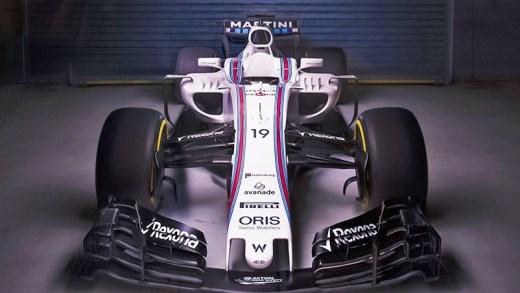 Williams 2018 F1 aracı tanıtımı tasarımı