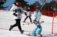 Güney Koreli Kayakçı Robot