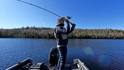baba oğul balık avı