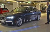 Yeni BMW 7 Serisi Sürücüsüz Park Ediyor