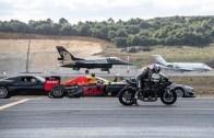 Motoruyla F16'ya Kafa Tutan Kenan Sofuoğlu Rüzgarı Bile Utandırdı!