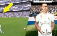 Real Madrid'in En Pahalı Transferi Hazard İçin Görkemli İmza Töreni