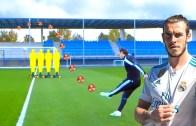Hepsi Birbirinden Harika! Gareth Bale'dan Olağanüstü Frikikler