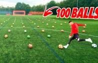 100 Şuttan Acaba Kaç Tane Gol Atılabilir? (Challenge Başlasın)
