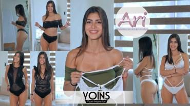 Ari Dugarte'den Giymesi Cesaret İsteyen Bikini Tanıtımı
